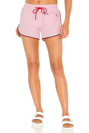 Perfect Moment Rainbow Shorts in - Pink. Size L (also in XS, S, M).