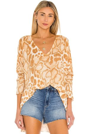 Show Me Your Mumu Cliffside Sweater in - Neutral. Size L (also in S, XS, M).