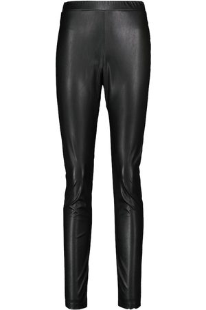 Max Mara Donna Leggings & Treggings - Leggings Ranghi in similpelle