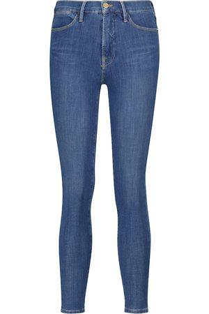 Frame Jeans skinny 24 Hour a vita alta