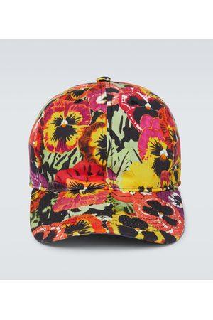 Loewe Cappello da baseball Pansy con stampa