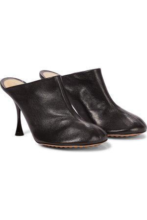 Bottega Veneta Donna A spillo - Mules Dot Sock in pelle