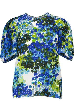 Stella McCartney Blusa Nyla in seta con stampa floreale