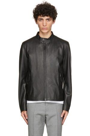 Boss Black Leather Gemos Jacket