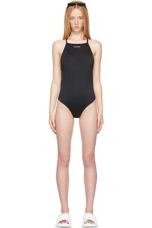 Balenciaga Donna Costumi interi - Black Strappy One-Piece Swimsuit