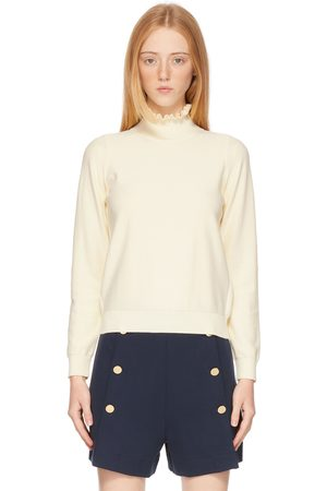 See by Chloé Off-White Victorian Turtleneck