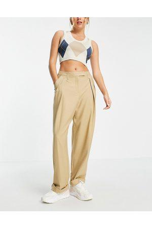 Topshop Menzy - Pantaloni cammello