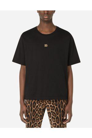 Dolce & Gabbana T-shirts e Polo - T-shirt cotone con logo DG male 42