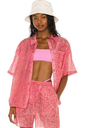Tell Your Friends Camicie - Boxy Shirt in - Pink. Size L (also in S, M).