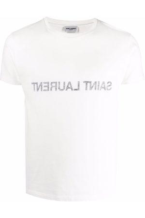Saint Laurent T-shirt con stampa