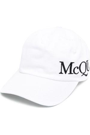 Alexander McQueen Cappello da baseball con ricamo