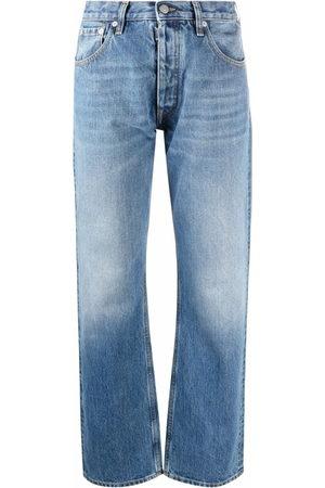 Maison Margiela Donna Straight - Jeans dritti a vita media