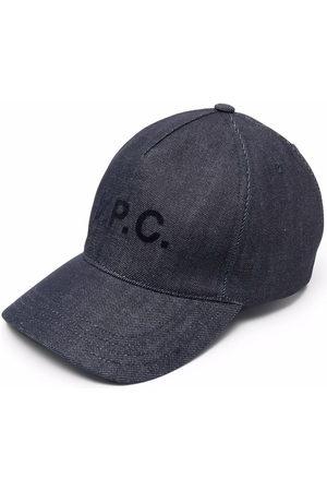 A.P.C. Cappello da baseball con stampa