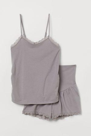 H&M MAMA Pigiama jersey di cotone
