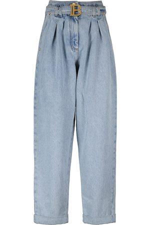 Balmain Jeans boyfriend a vita alta