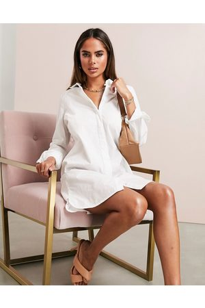 ASOS DESIGN Vestito camicia corto in cotone