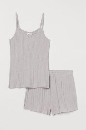 H&M Pigiama in jersey traforato