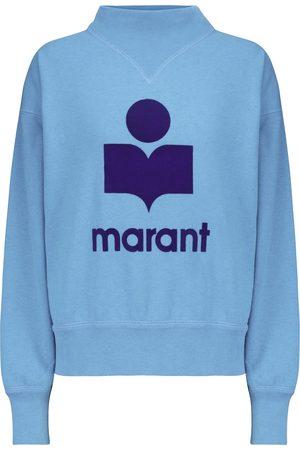 Isabel Marant Felpa Moby in cotone con logo