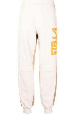 Stella McCartney Pantaloni sportivi con design color-block - Toni neutri