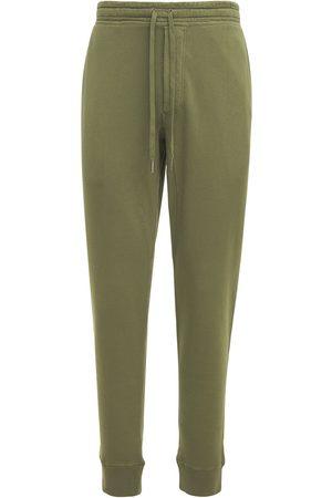 Tom Ford Pantaloni In Felpa Di Cotone Tinta Vintage
