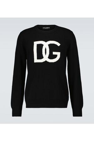 Dolce & Gabbana Felpa in lana con logo