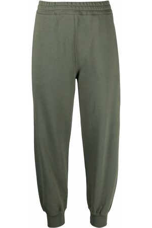 Alexander McQueen Tapered cotton track pants