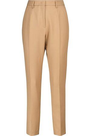 Etro Pantaloni slim in lana a vita alta
