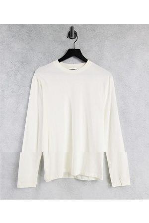 ASOS Confezione da 2 T-shirt a maniche lunghe girocollo