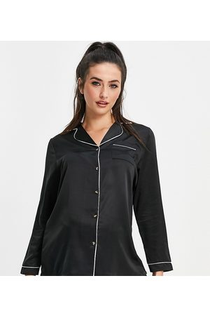 Loungeable Maternity - Mix and Match - Camicia del pigiama in raso