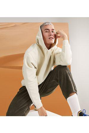 ASOS Felpa con cappuccio oversize beige-Neutro