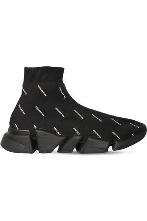 "Balenciaga Uomo Sneakers - Sneakers ""speed 2.0"" In Maglia"