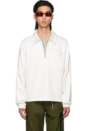 ADYAR SSENSE Exclusive Denim Zip-Up Pullover