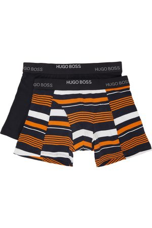HUGO BOSS Two-Pack Multicolor Print Boxer Briefs