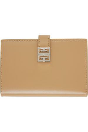Givenchy Donna Portafogli e portamonete - Beige 4G Wallet