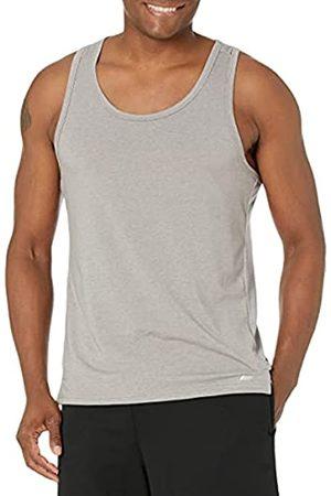 Amazon Performance Cotton Tank Undershirts, Erica, Chiaro, US S