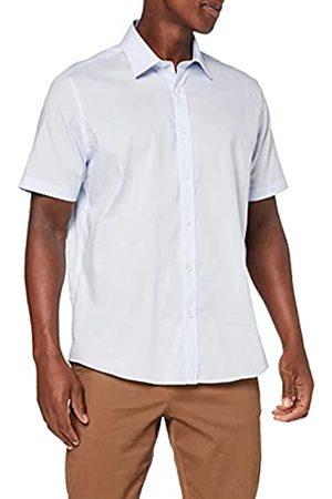 FIND Uomo Casual - Marchio Amazon - Camicia in Cotone a Manica Lunga Uomo, ., XXL, Label: XXL