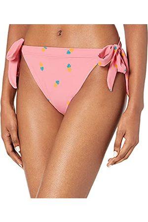 Amazon Bikini da donna, con lacci laterali, pezzo inferiore, Ananas , US XS