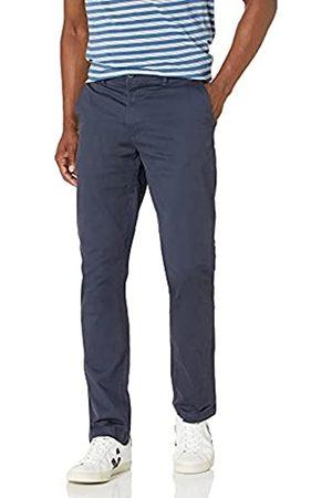 Goodthreads Uomo Chinos - Marchio Amazon - , pantaloni Chino elasticizzati da uomo, stile atletico, comodi, effetto lavato, Dainty, 28W x 34L
