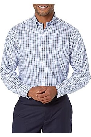 Buttoned Down Uomo Polo - Classic Fit Button Collar Pattern Dress Shirt Camicia, , 17.5 38