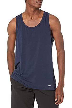 Amazon Uomo Magliette intime - Performance Cotton Tank Undershirts, Dainty, US M