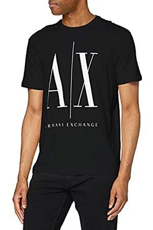 Armani Logo Icon Tee T-Shirt, Nero , XX-Large Uomo