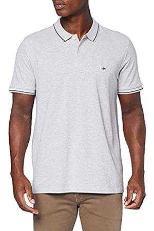Lee Pique Polo T-Shirt, Avorio , Medium Uomo