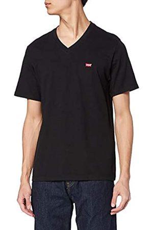 Levi's Orig HM Vneck T-Shirt, Black , X-Large Uomo