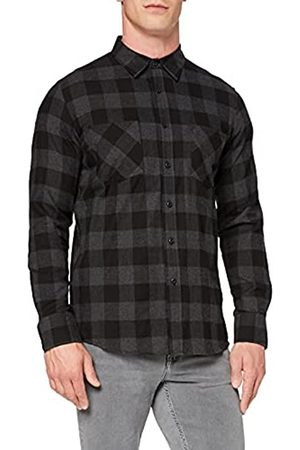 Urban classics Checked Flanell Regular Fit Freizeit Hemd Camicia, Multicolore , XL Uomo