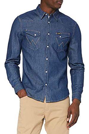 Wrangler LS Western Shirt Camicia, , L Uomo