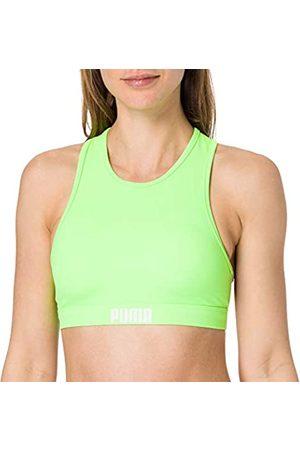 PUMA Women's Racerback Swim Top Reggiseno per Bikini, , L Donna