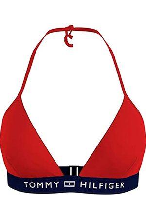 Tommy Hilfiger Triangle Fixed Parte Superiore del Bikini, , L Donna
