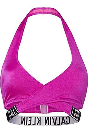 Calvin Klein Crossover Bralette-RP Parte Superiore del Bikini, , XL Donna