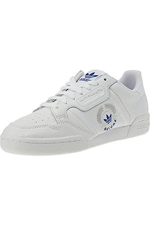 adidas Continental 80, Scarpe da Ginnastica Uomo, Ftwr White/Ftwr White/Ftwr White, 47 1/3 EU