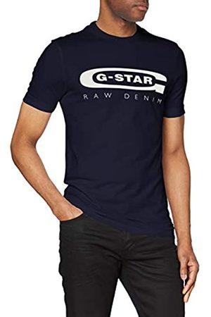 G-Star Graphic Logo 4 Maglietta a Maniche Corte, , Small Uomo